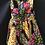 Thumbnail: Young Girls Multicoloured kitenge Dress