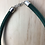 Thumbnail: Green fabric chunky tight necklace