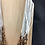 Thumbnail: White and brown coloured bead necklace