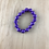 Thumbnail: Purple bead arm bracelet