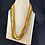 Thumbnail: Rustic Sunset coloured bead necklace