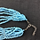Thumbnail: Sky blue necklace and arm bracelet jewellery set