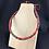 Thumbnail: Multicoloured fabric necklace