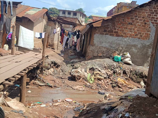 Lockdown in the slum