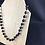 Thumbnail: Black and gold bead necklace