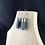 Thumbnail: Grey fabric tube earrings