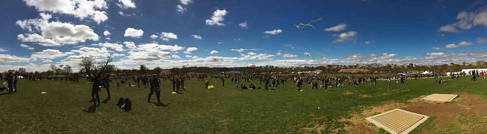 The Kite Festival at the National Mall, Spring 2017