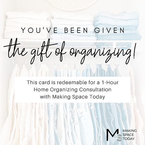 In-Home Consultation Gift Card
