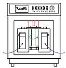 Конвективная система быстрого охлаждения микроволновой системы пробоподготовки WX-8000 PreeKem