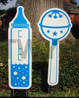 Blue Bottle & Rattle