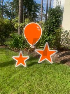 Bright Orange Balloo