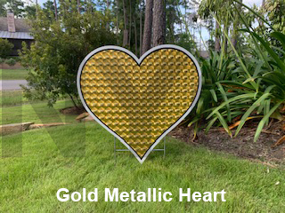 Gold Metallic Heart - Wedding.png