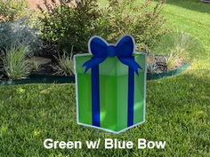 Green with blue bow.png
