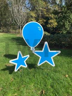 Electric Blue Balloon