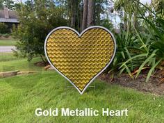 Gold Metallic Heart.png