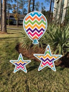 Chevron Balloon