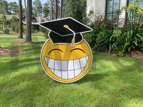 Graduation Smile Emoji