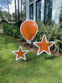 Burnt Orange Balloon