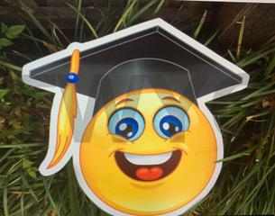 Graduation Happy Emoji