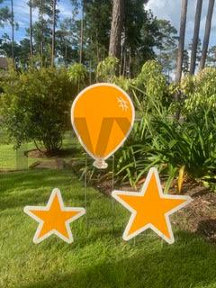 Light Orange Balloon