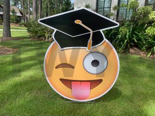 Graduation Silly Emoji