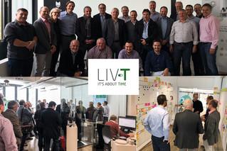Vorstandsbesuch der EnBW bei LIV-T
