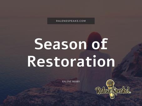 Season of Restoration
