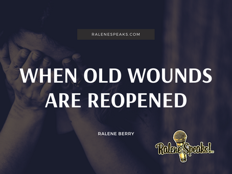 When old Wounds are Reopened