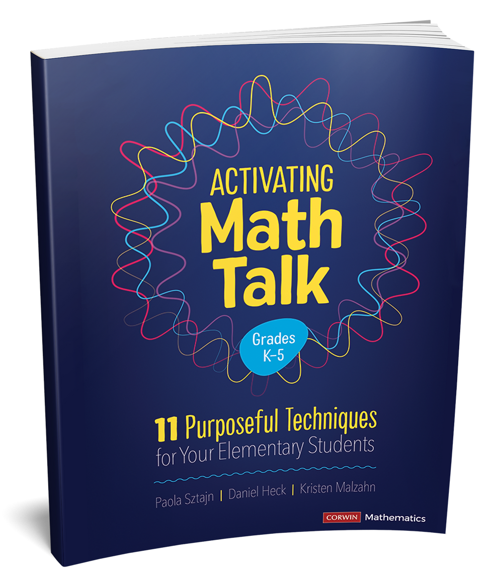 Picture of the Book - Activating Math Talk: 11 Purposeful Techniques for Your Elementary Students