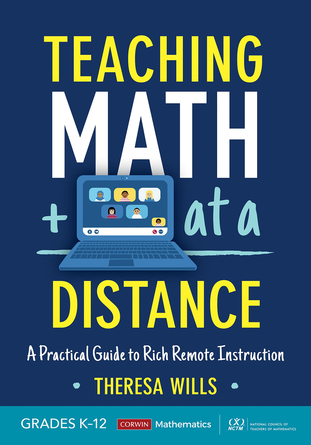 Picture of the Book Teaching Math At a Distance by Theresa Wills