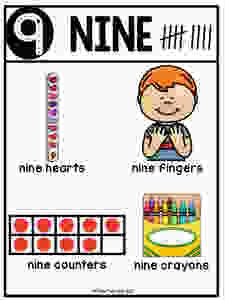 Nine-Number Poster