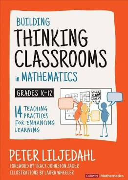 cover of the Building Thinking Classrooms in Mathematics book
