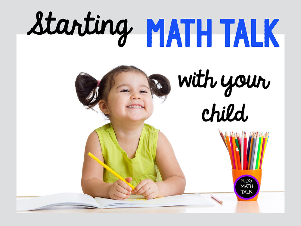 Starting Math Talk with your Child