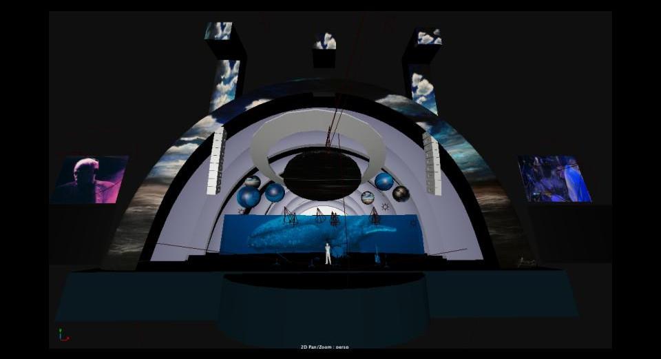 Luz Final Presentation for Projection De