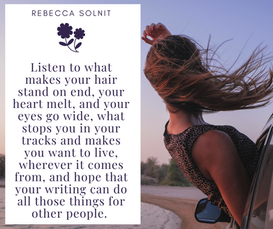 Listen to what makes your hair stand on