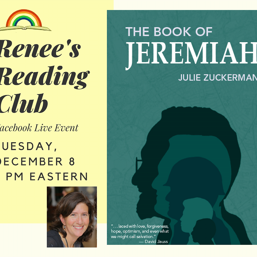 Renee's Reading Club - FB Live Event