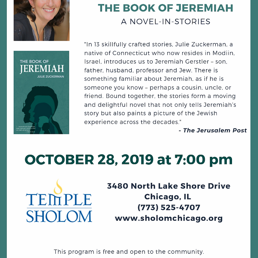 Book evening in Chicago