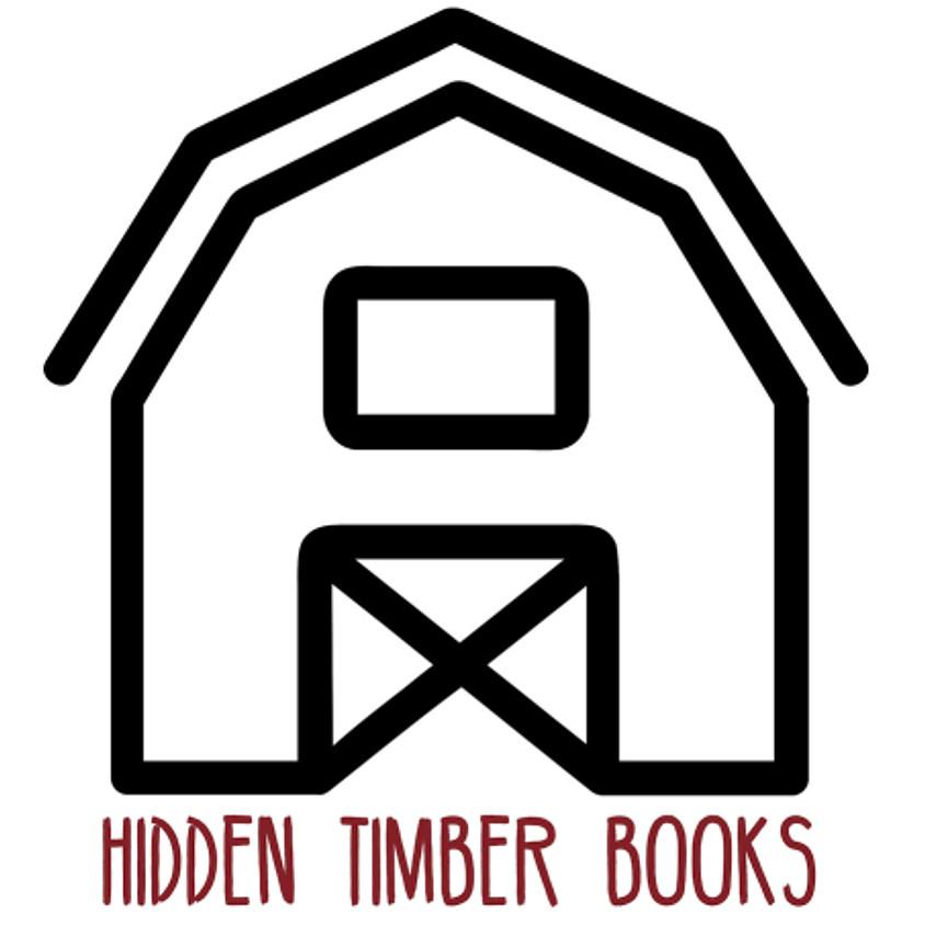 Hidden Timber Books Author Reading - via Zoom