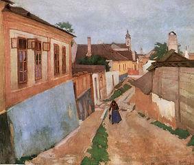 Fényes_Adolf_-_Utca_Vácott_1904.jpg
