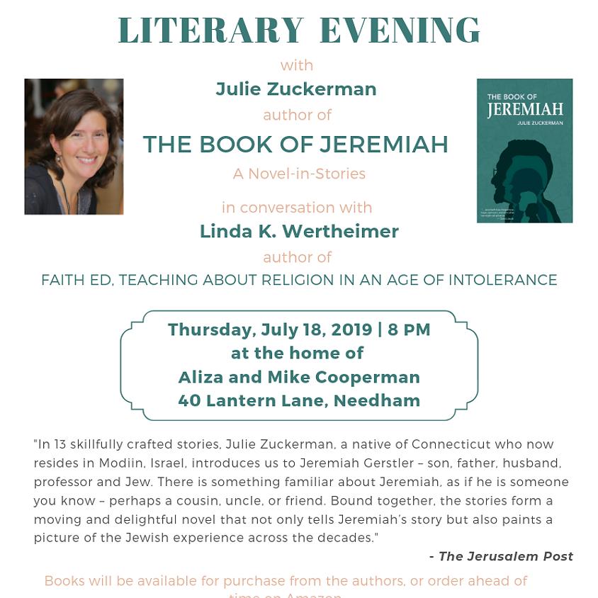 Book Evening in Needham, MA