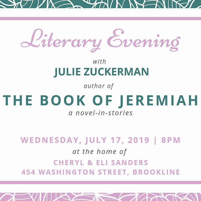 Literary Evening in Brookline, MA
