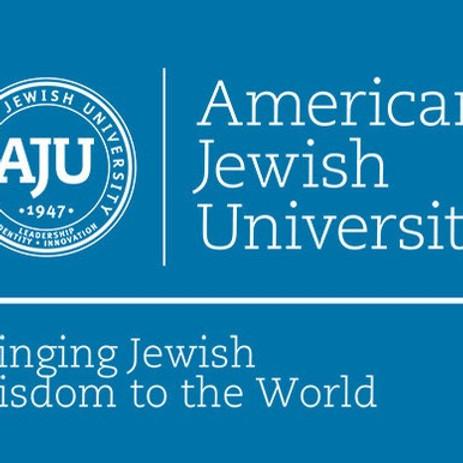 American Jewish University Book Talk