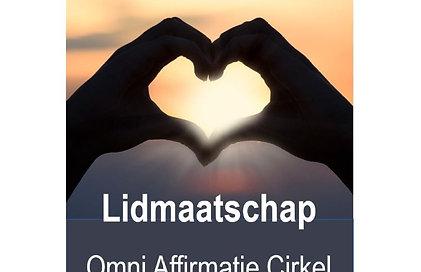 Lidmaatschap Omni Affirmatie Cirkel van Liefde