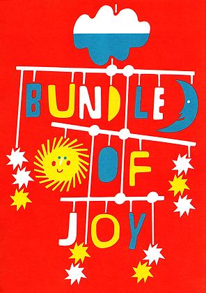 Bundle Of Joy Greetings Card