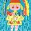 Thumbnail: Emily + The Rain Greetings Card