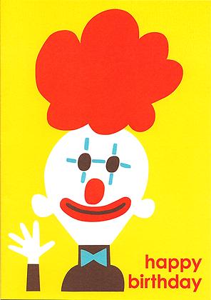 Clown Greetings Card