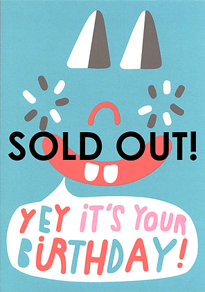 Yey, Its your Birthday! Greetings Card