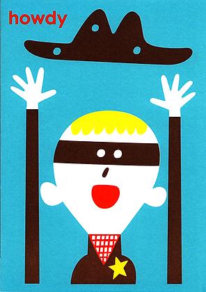 Cowboy Greetings Card