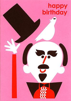Magician Greetings Card