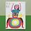 Thumbnail: Drummer Rocks Greetings Card